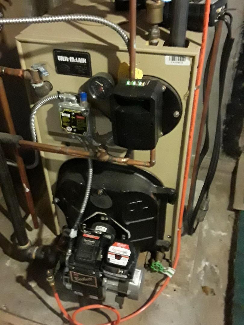 Sterling, MA - Repair on a Weil McLain oil boiler