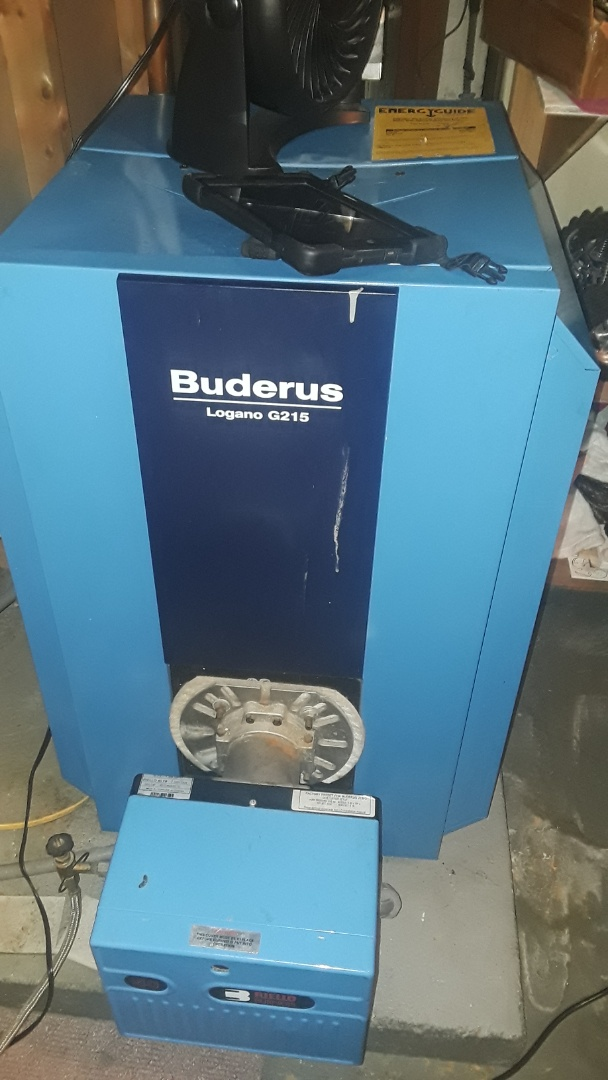Lancaster, MA - Clean and check Buderus oil boiler