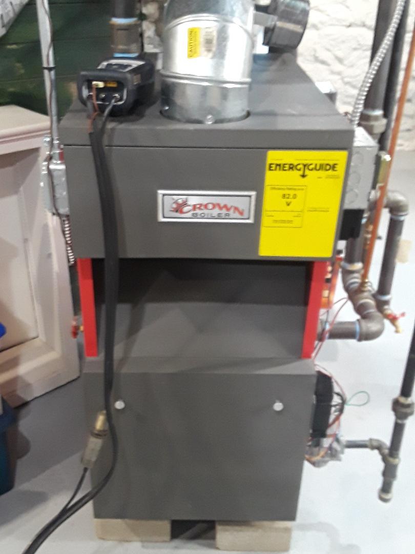 Worcester, MA - Clean and check Crown gas steam boiler