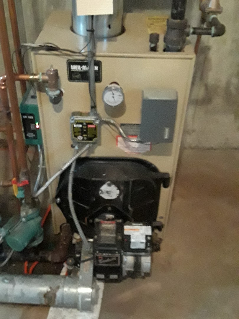 Charlton, MA - Repair on a Weil Mclain oil boiler