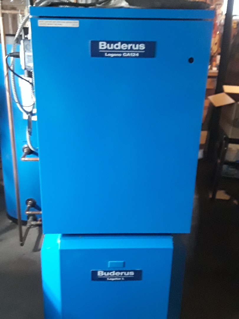 Worcester, MA - Clean and check Buderus gas boiler