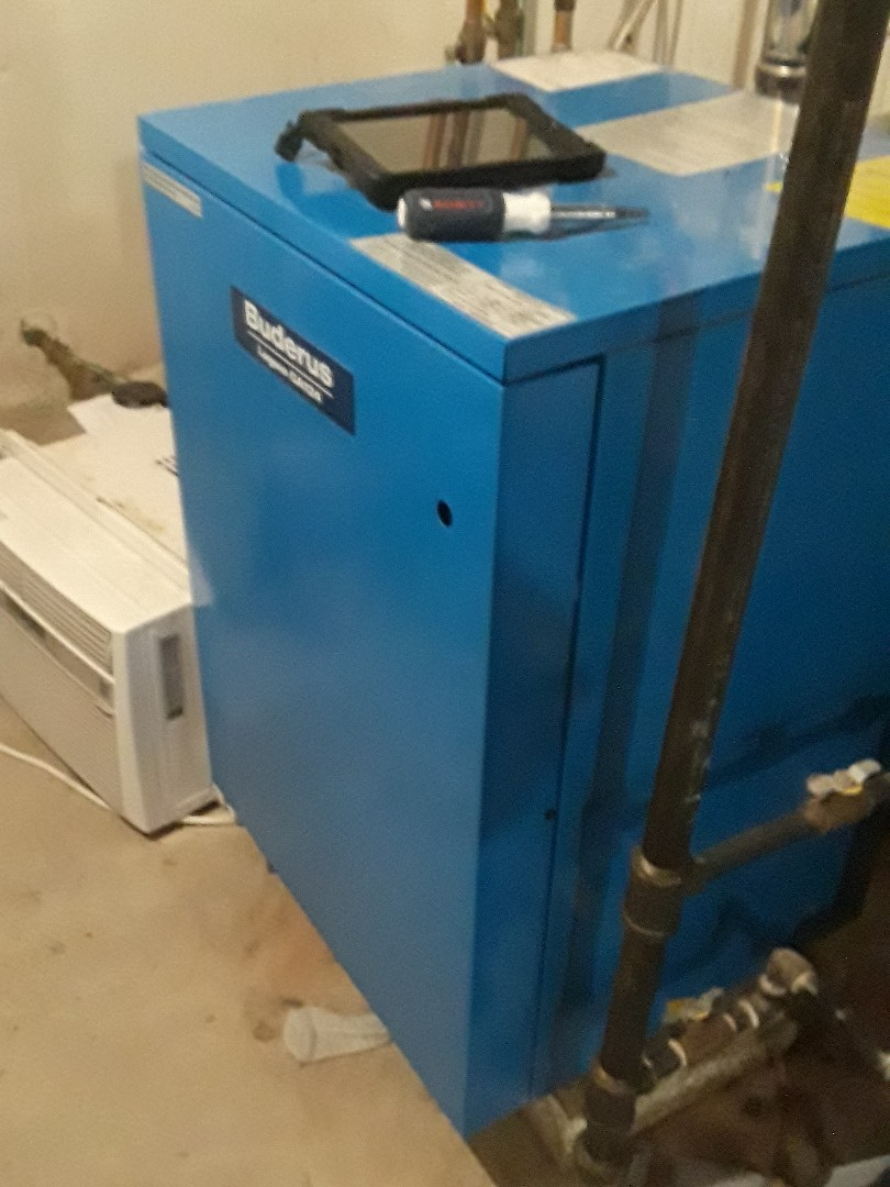 Fitchburg, MA - Repair on a Buderus gas boiler
