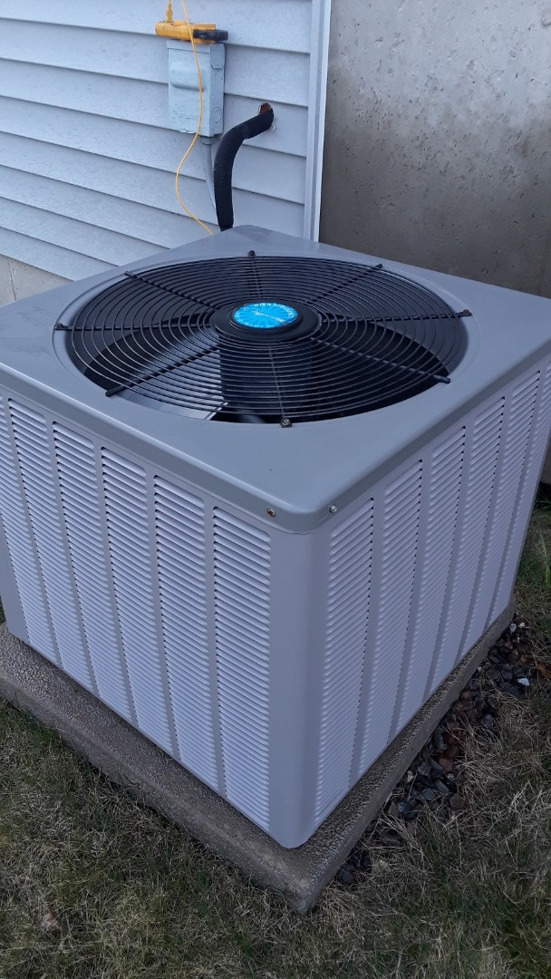 Leominster, MA - Clean and check Comfort aire Oil heating unit and AC unit