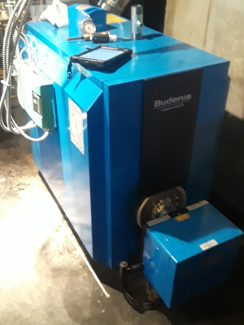 Auburn, MA - Clean and check Buderus oil boiler