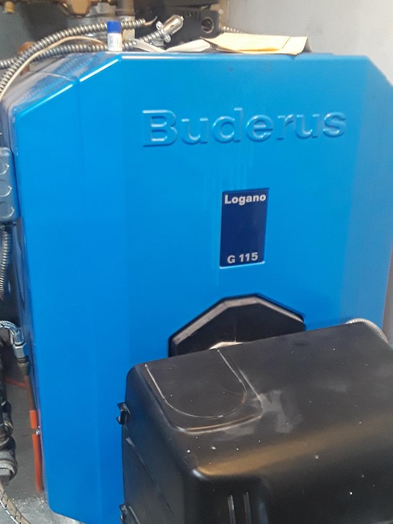 Grafton, MA - Repair on a Buderus oil boiler