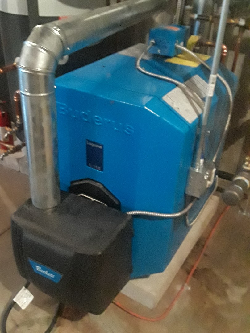 West Boylston, MA - Clean and check Buderus oil boiler