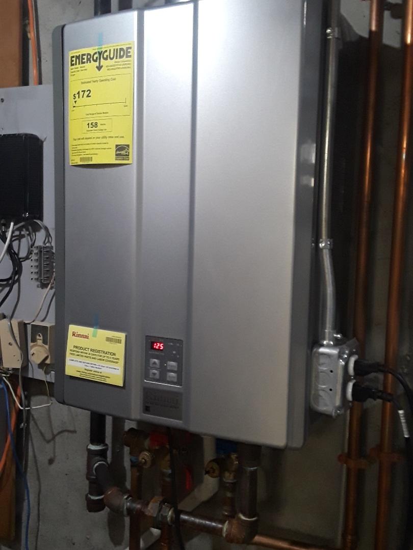 Northborough, MA - Flushed Rinnai Tankless water heater