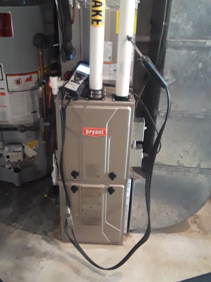 Ayer, MA - Clean and check Bryant gas furnace