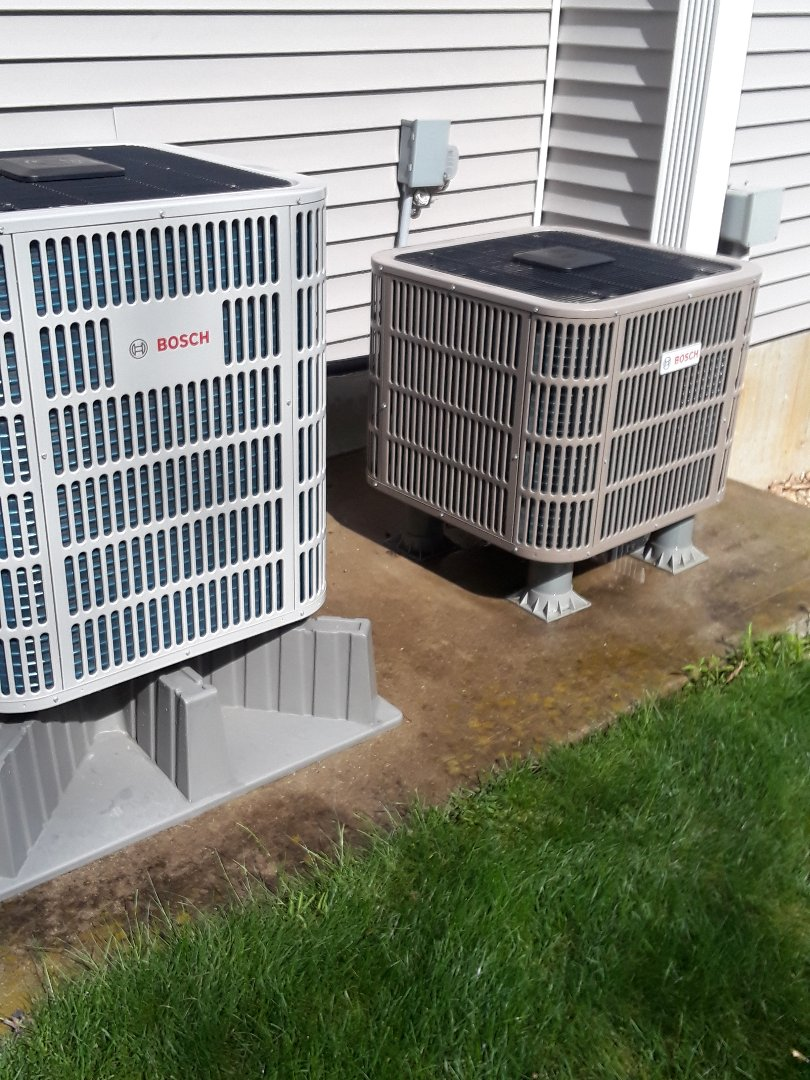 Fitchburg, MA - Clean and check Bosh AC units