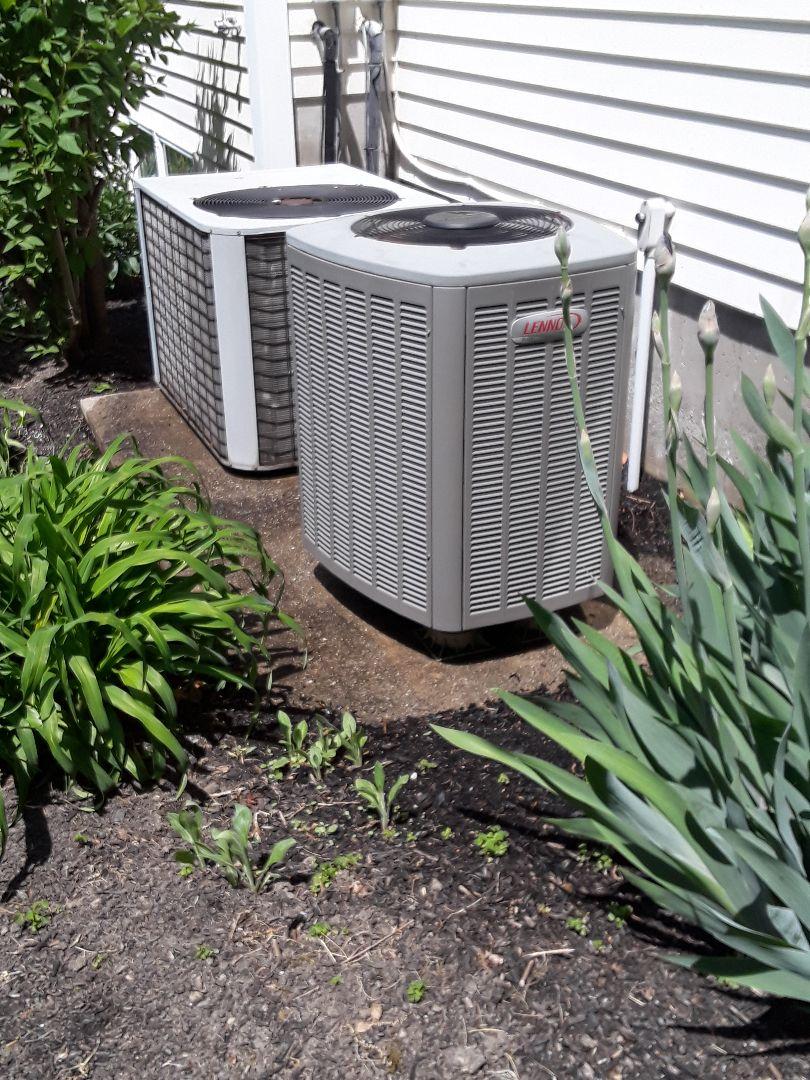 Boylston, MA - Clean and check Lennox AC units