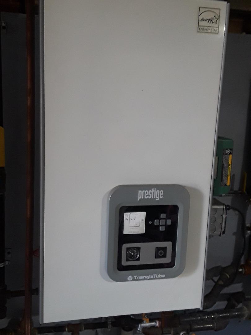 Southbridge, MA - Repair on a Triangletube gas boiler