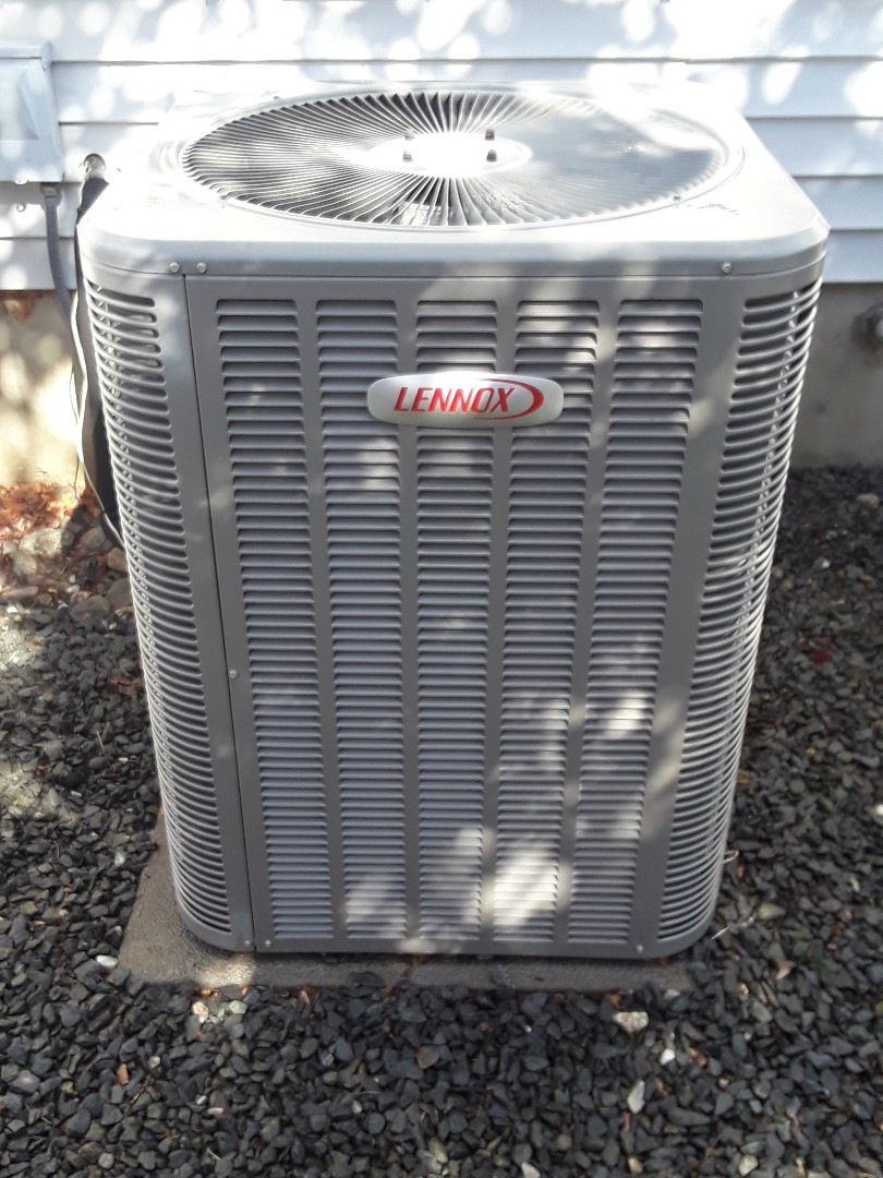 Ayer, MA - Clean and check Lennox AC unit