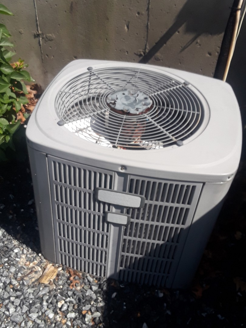 Shrewsbury, MA - Clean and check American Standard AC unit