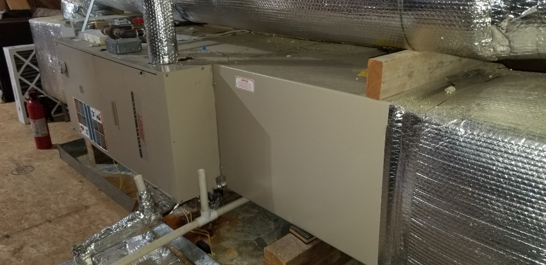 Webster, MA - Service on a lennox air conditioning system