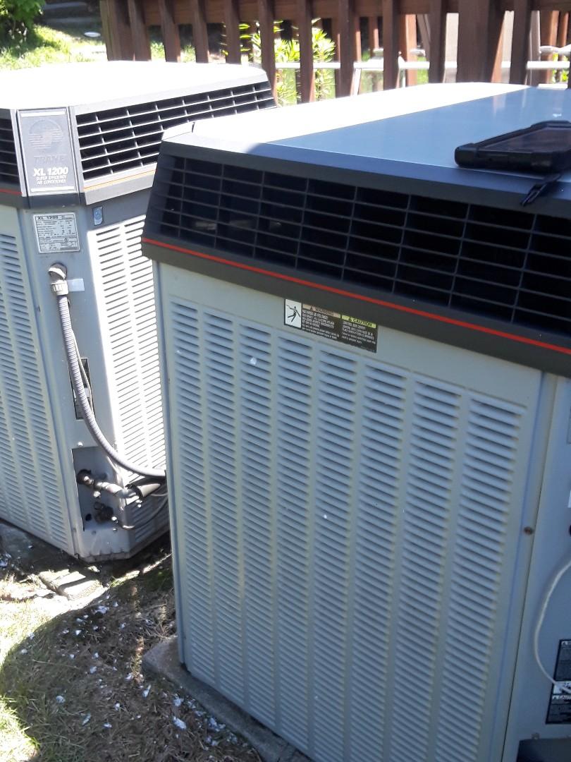 Southborough, MA - Clean and check Trane AC units