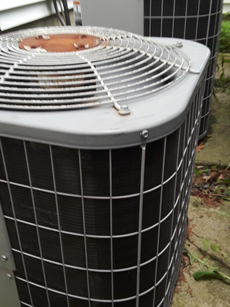 Grafton, MA - Repair on a Carrier AC unit