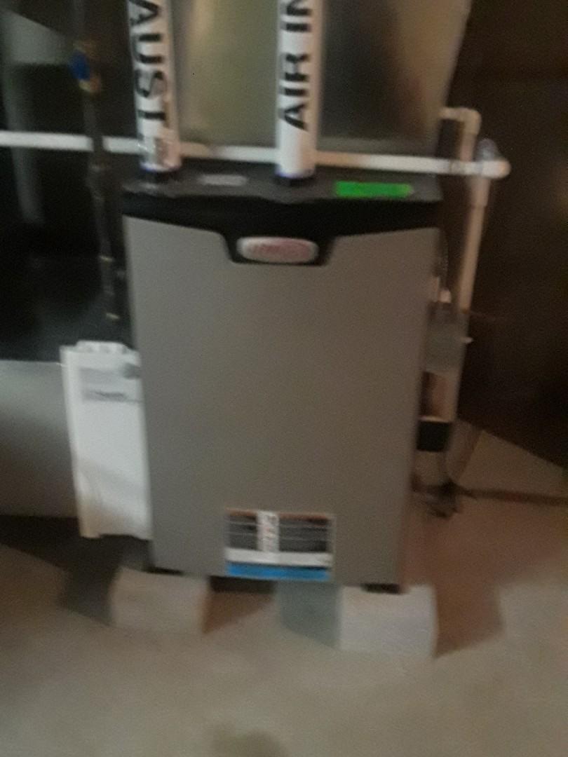 Shrewsbury, MA - Clean and check Lennox gas heating unit