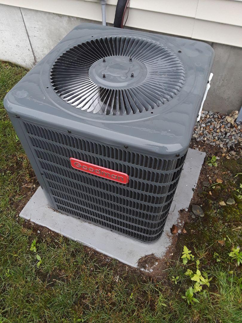 Boylston, MA - Repair on a Goodman AC  unit