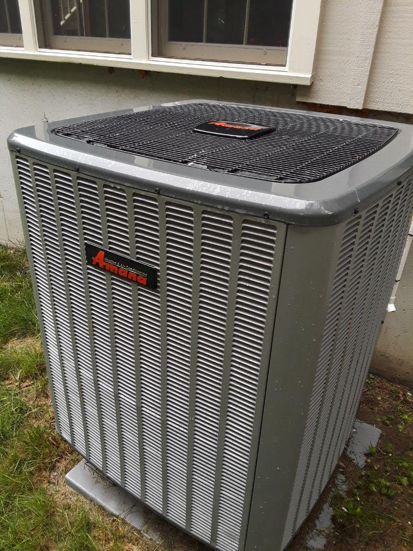Bolton, MA - Clean and check Amana heat pump