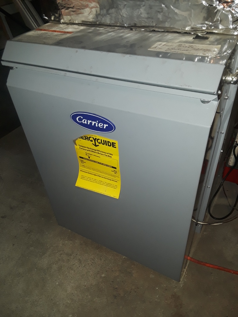 Fitchburg, MA - Repair on a Carrier oil furnace
