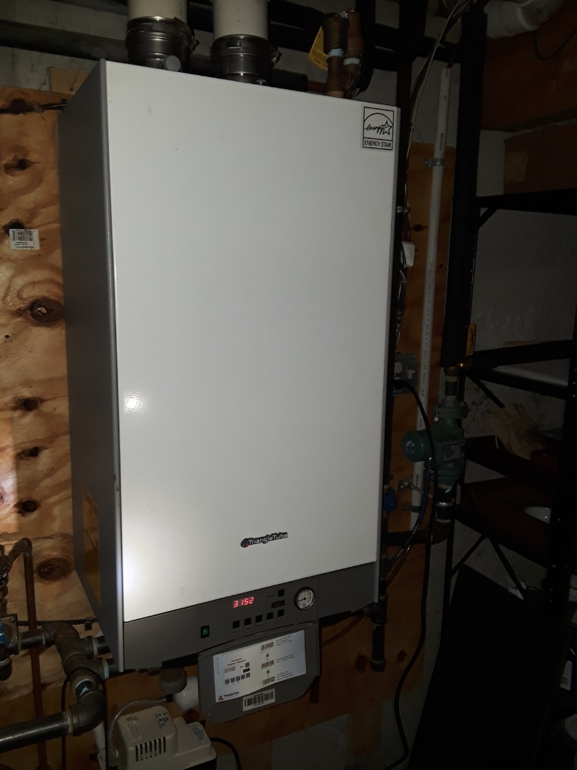 Shrewsbury, MA - Repair on a TriangleTube gas boiler