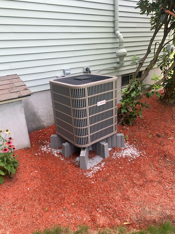 Sutton, MA - Service on a Bosch heat pump