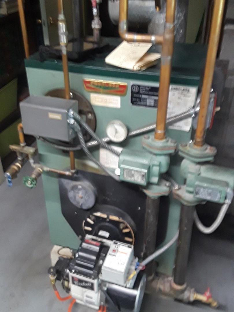 Lunenburg, MA - Repair on a Peerless oil boiler