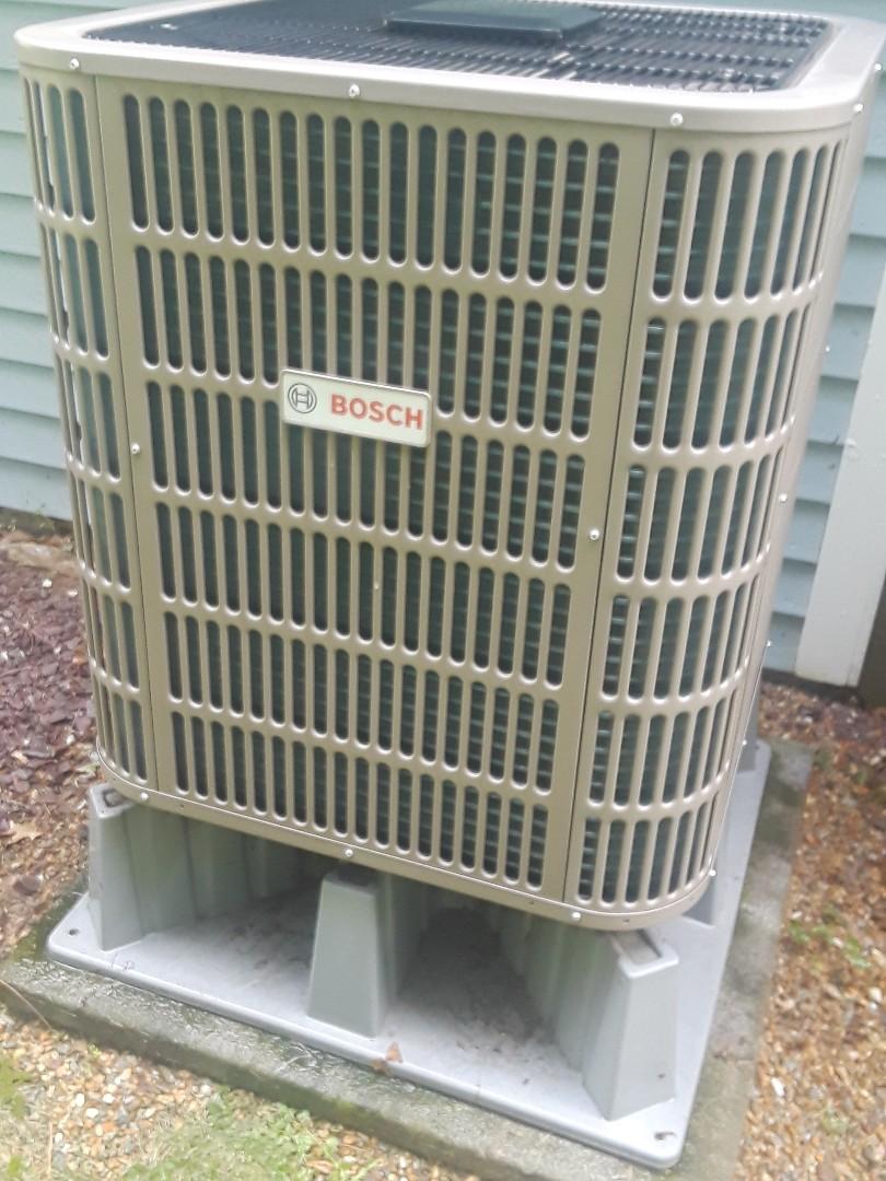Northborough, MA - Clean and check Bosch Heat pump