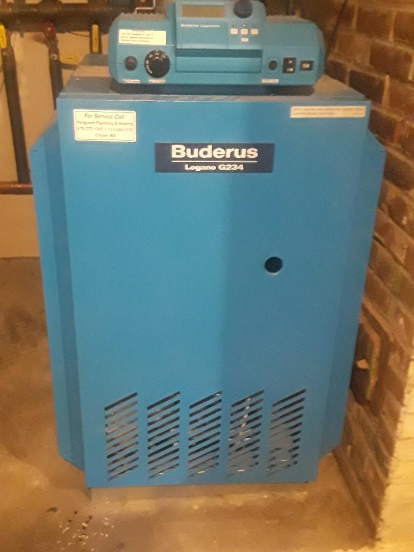 Devens, MA - Repair on a Buderus gas boiler