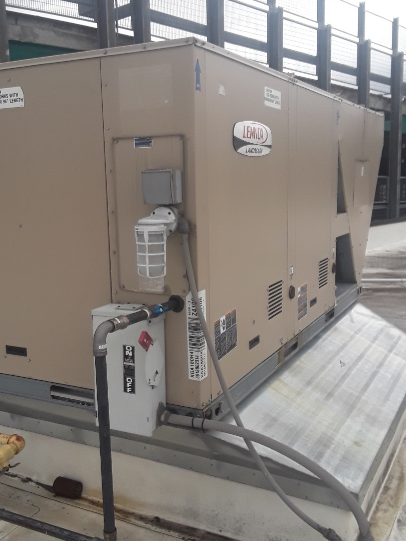 Fitchburg, MA - Clean and check Lennox rooftop units
