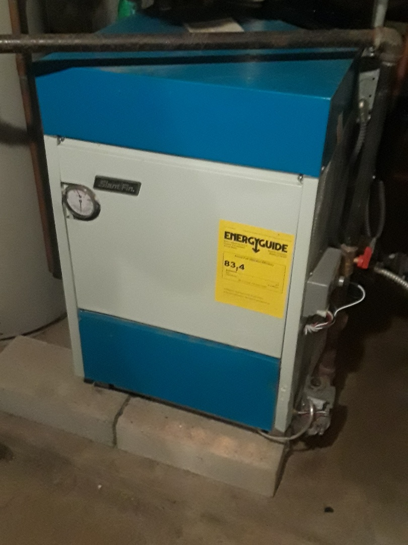 Northbridge, MA - Clean and check Slant Fin Gas heating unit