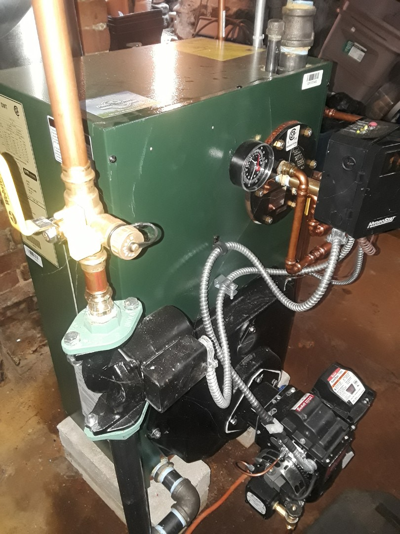 Leominster, MA - Clean and check Weil McLain oil boiler
