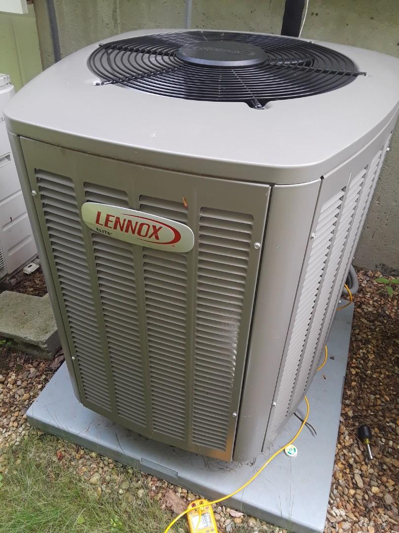 Westborough, MA - Repair on a Lenmox AC unit