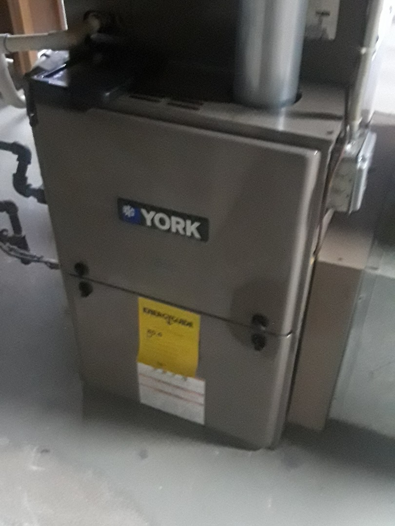 Hudson, MA - Clean and check York gas heating unit