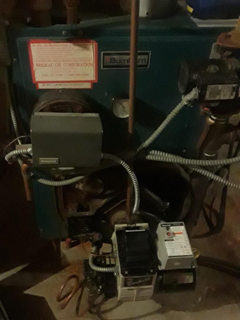 Lunenburg, MA - Clean and check Burnham oil heating unti