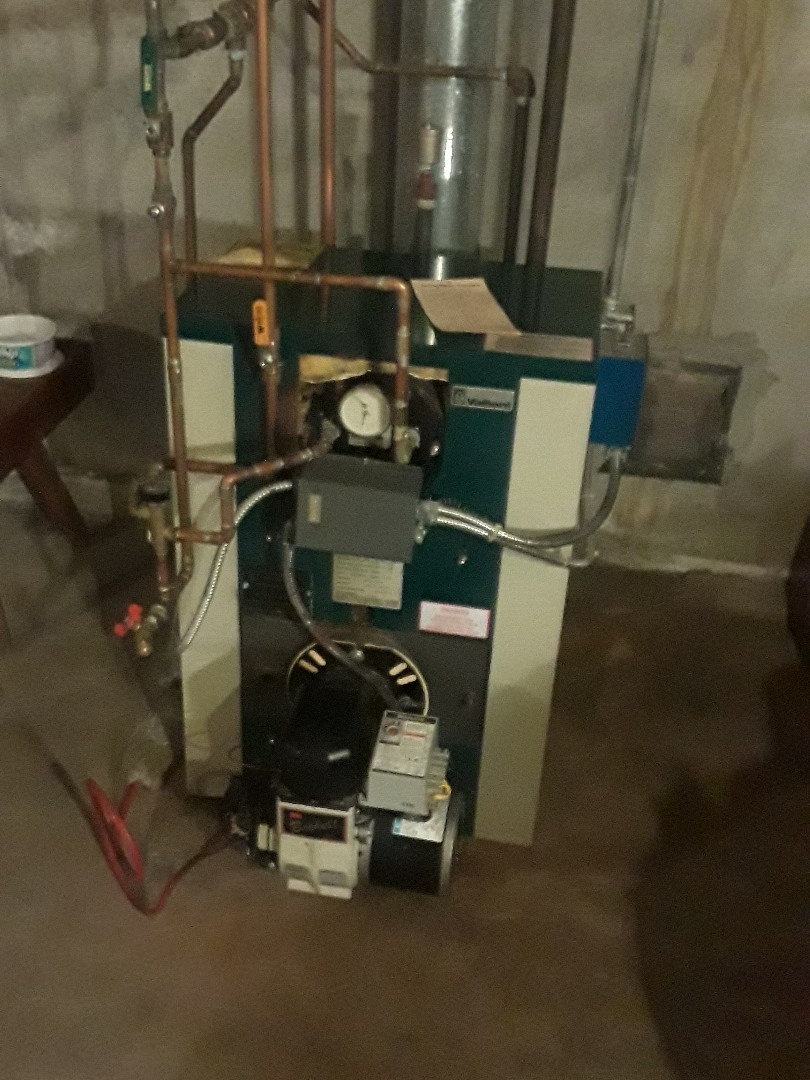 Leominster, MA - Clean and check Vaillant oil heating unit