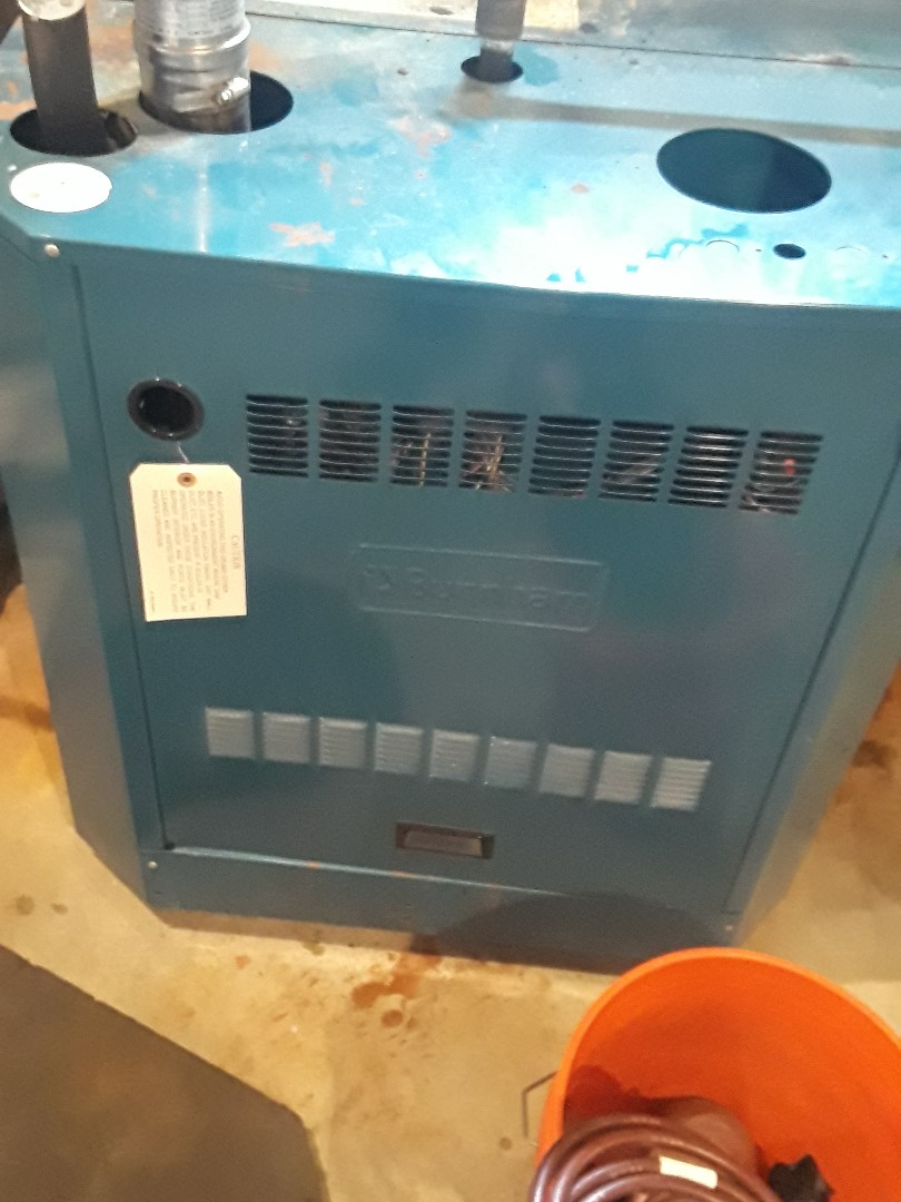 Westborough, MA - Repair on a Burnham gas boiler