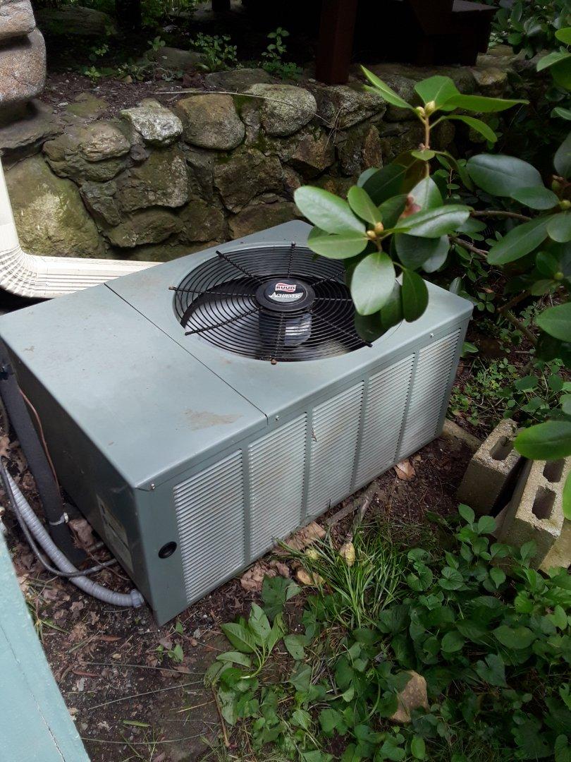 Ashburnham, MA - Repair on a Ruud AC unit