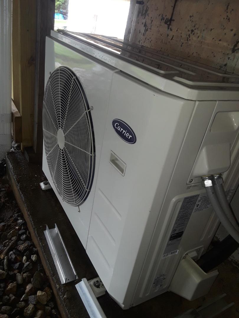 Auburn, MA - Clean and check Carrier Mini Split unit