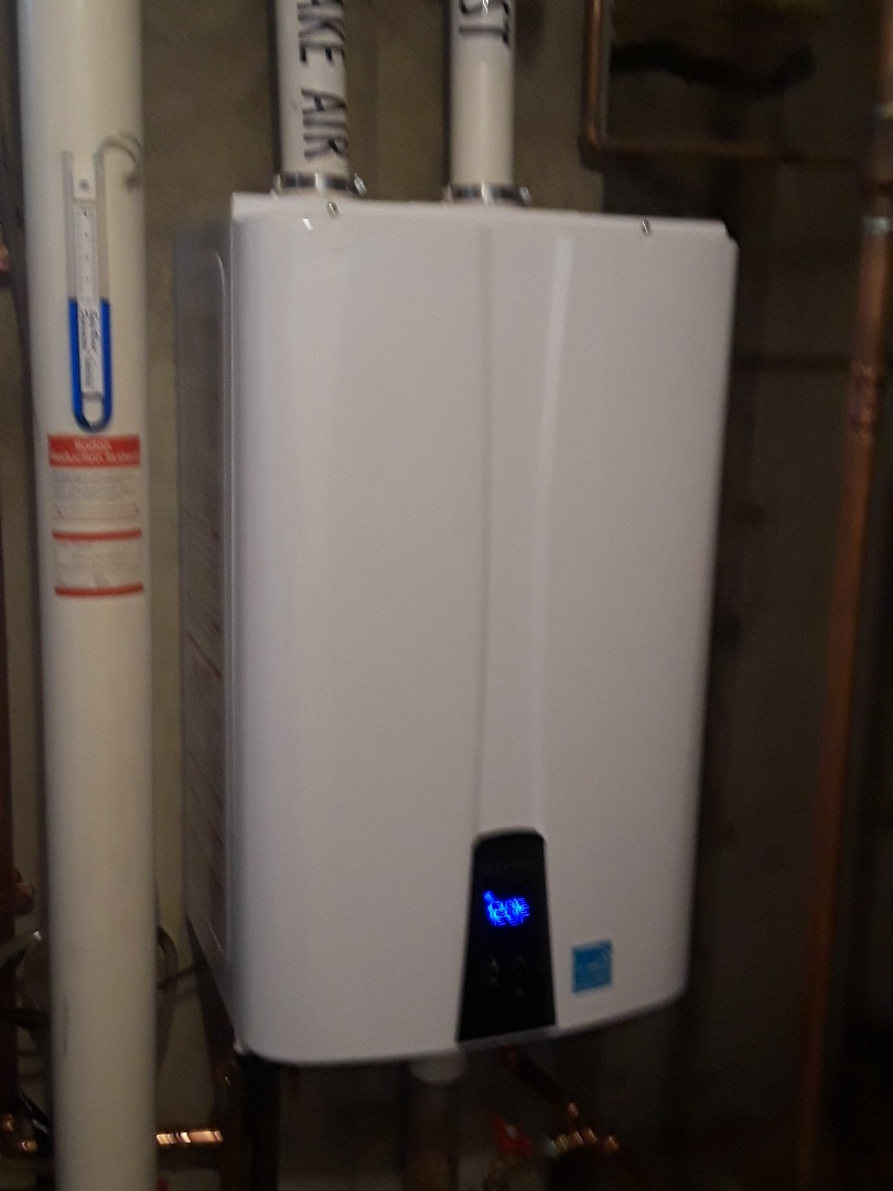 Grafton, MA - Repair on a Navien gas water heater
