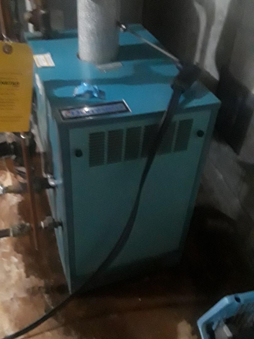 Berlin, MA - Clean and check Burnham gas boiler