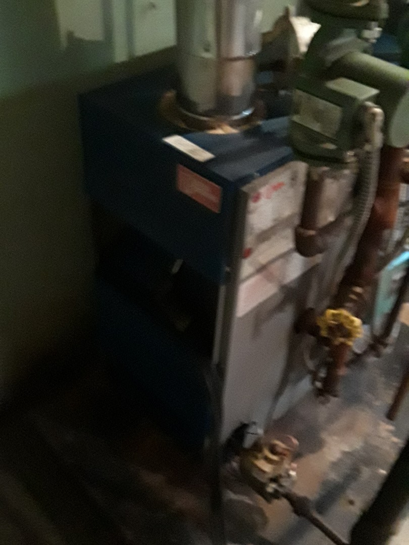 Leominster, MA - Clean and check Slant Fin gas boiler