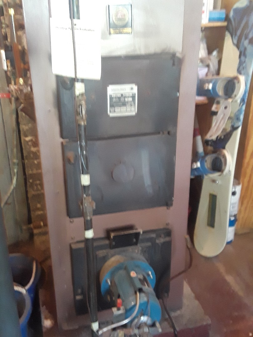 West Boylston, MA - Clean and check American Standard gas steam boiler