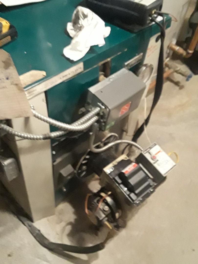 Sudbury, MA - Clean and check Vallaint OIL boiler