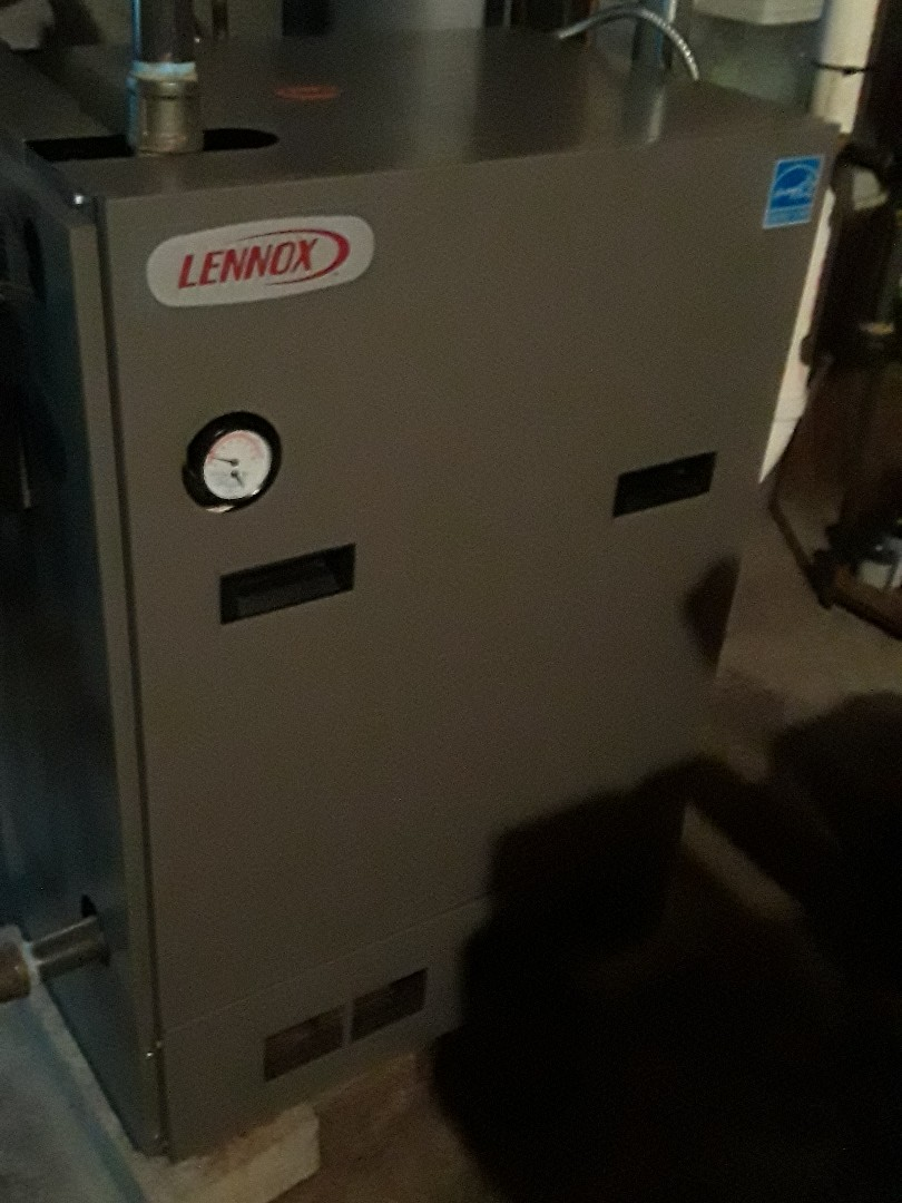 Leominster, MA - Clean and check Lennox gas boiler