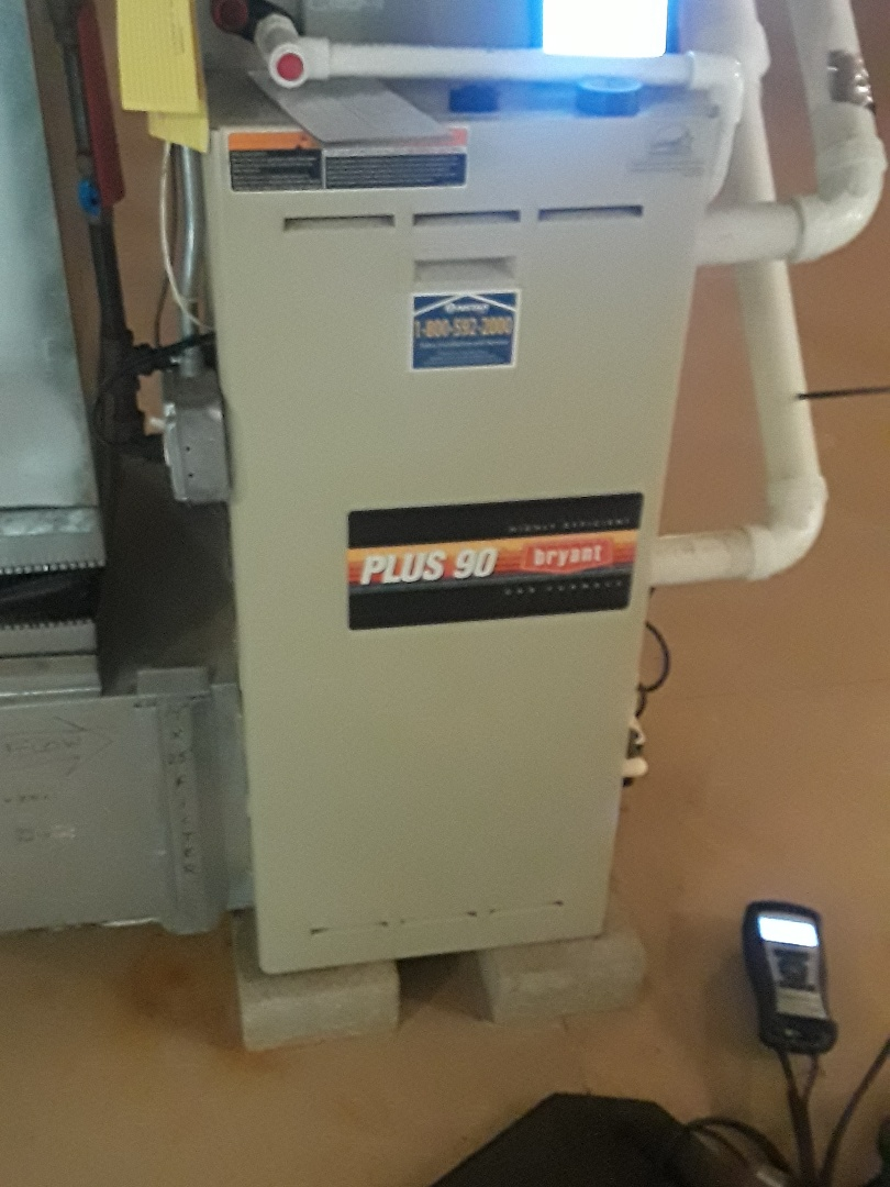 Westborough, MA - Clean and check Bryant gas heating unit