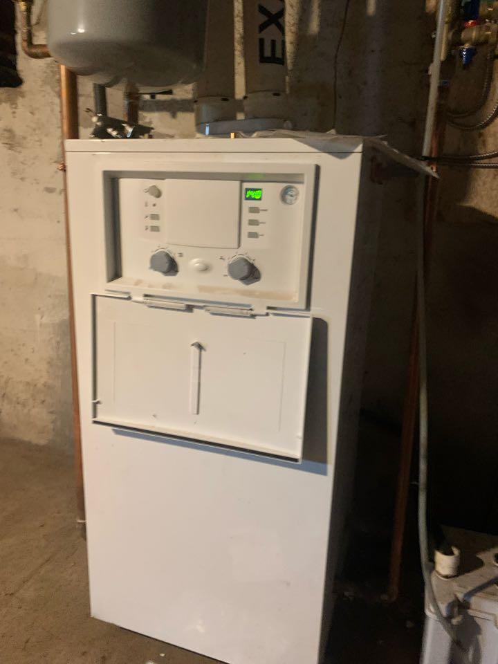 Gardner, MA - Repairs to a Bosch green star. Boiler