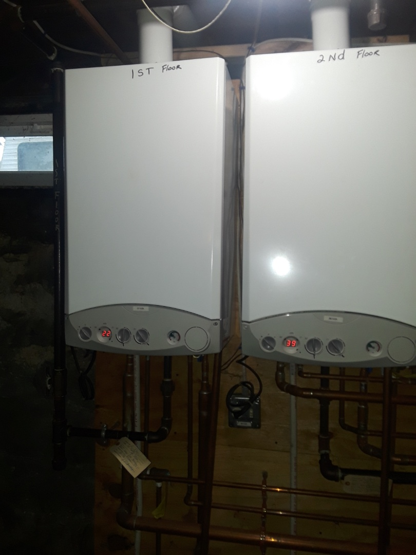 Leominster, MA - Repair on a Baxi tankless water heater