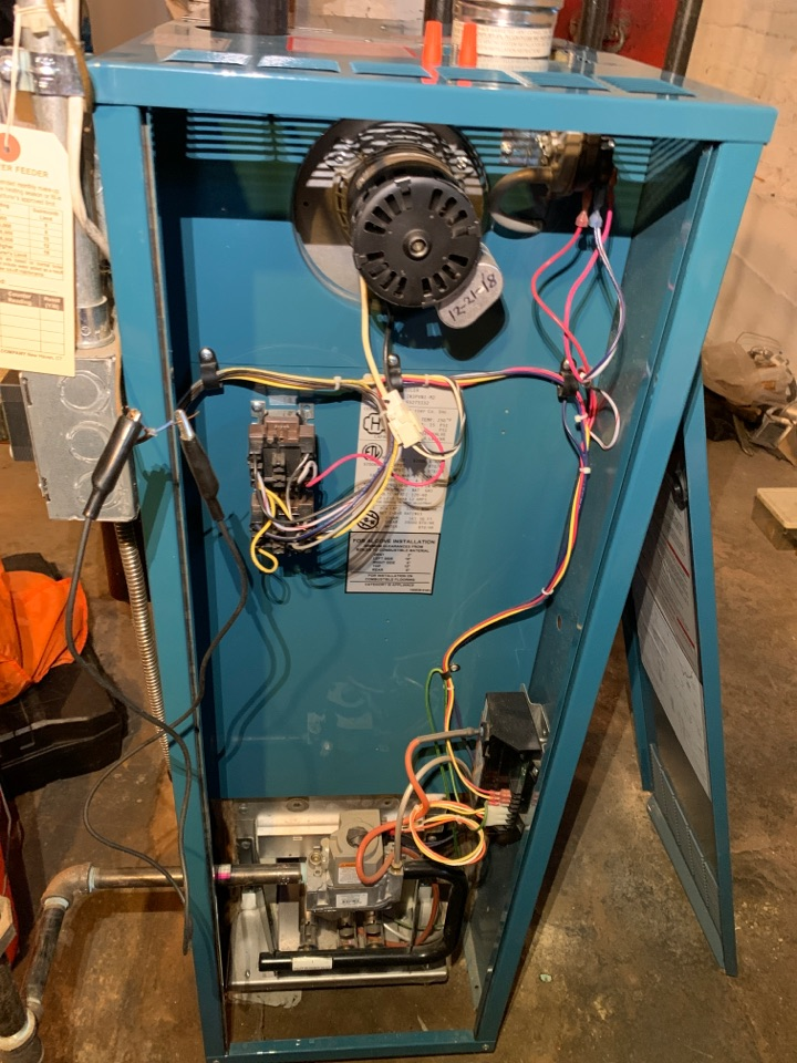 Marlborough, MA - Performed preventative maintenance procedures on burnham nat gas steam boiler