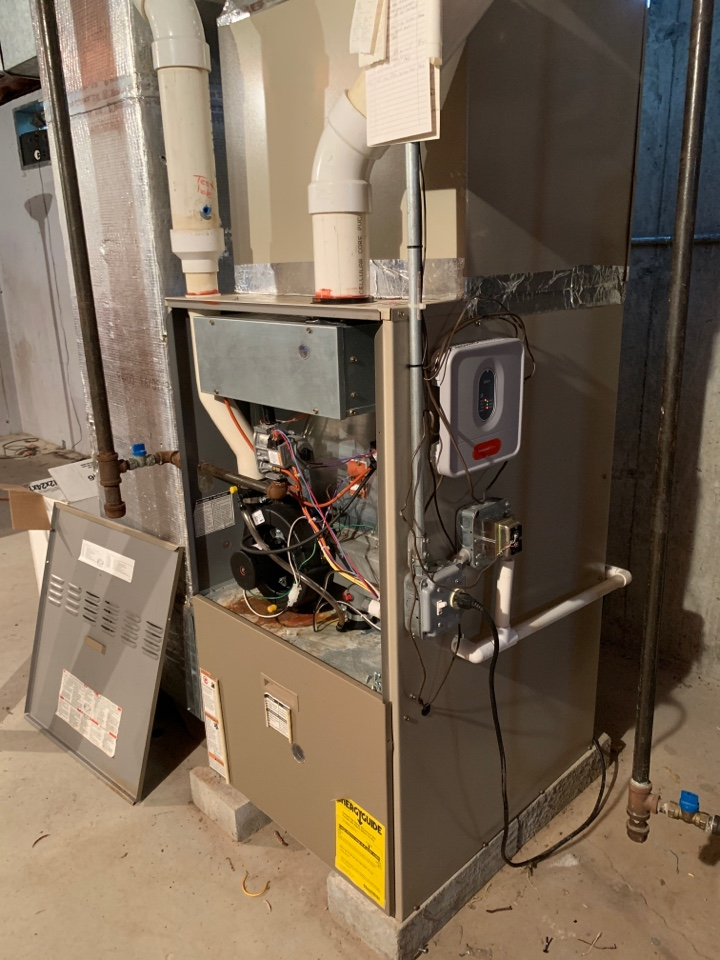 Northborough, MA - Remove and replace Honeywell zone panel